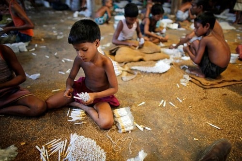 Child Labour in Tobacco Industry